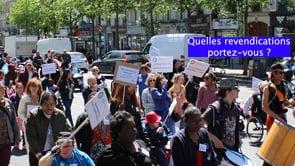 Caravane de l'APF : entre la colère et l'espoir [Vidéo]